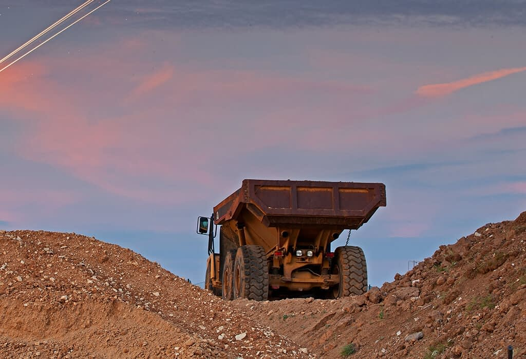 Longlife CARE System für Tagebau Maschinen